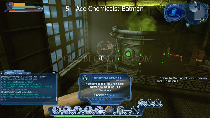 Ace Chemicals - DCUO Bloguide