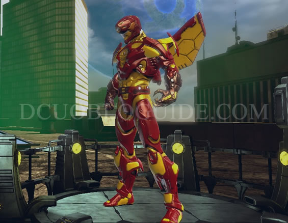 Shielded Robot Dcuo Bloguide