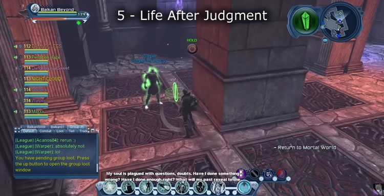 dcuo how to leave instance